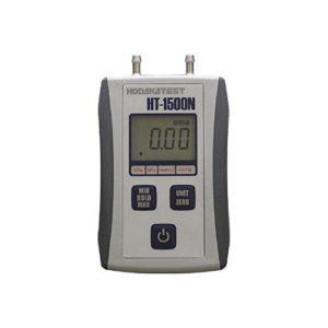 微差圧記録計による常時負圧管理